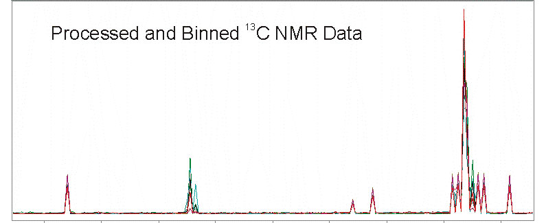Processed C NMR Data